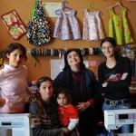 Francesca, Dzanuma, Simona, Cristina e Renata