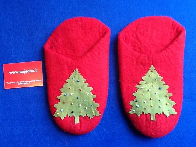 pantofole natalizie zajedno cooperativaForPantofole Natalizie