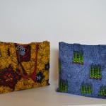 Borse con tessuti africani